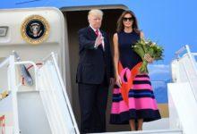 Photo of Donald Trump Bids Farewell to Washington and Hints at a Comeback
